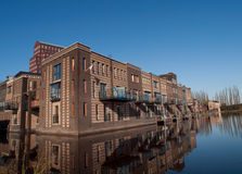 Facades at vathorst. New homes in amersfoort, the netherlands Stock Photography