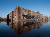 Facades at vathorst. New homes in amersfoort, the netherlands Stock Photo