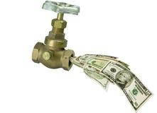 Faccet dei soldi Fotografie Stock Libere da Diritti