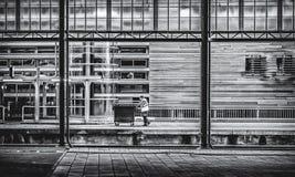 Facchino sul lavoro Fotografie Stock Libere da Diritti