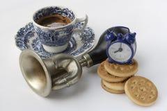 Faccia colazione e svegli Fotografia Stock