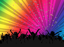Faccia festa la gente Immagine Stock Libera da Diritti