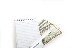 Faccia i soldi Immagini Stock