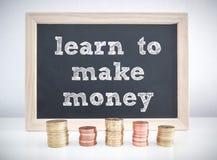 Faccia i soldi Fotografia Stock Libera da Diritti
