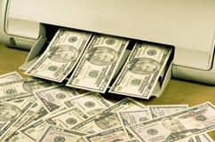 Faccia i vostri propri soldi Immagini Stock