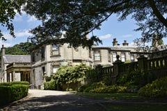 Faccia il giardinaggio alla bella casa di campagna vicino a Leeds West Yorkshire che non è la fiducia nazionale Fotografia Stock