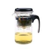 Faccia la tazza di vetro del tè Fotografia Stock