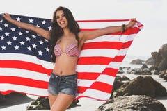 Faccia le grande dell'america fotografia stock libera da diritti