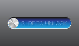 Faccia scorrere per sbloccare illustrazione vettoriale