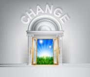 Faccia un concetto del cambiamento Immagini Stock Libere da Diritti