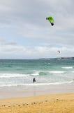 Faccia windsurf Immagini Stock