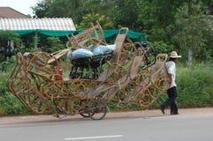 Facciala voi stessi il commercio di consegna della mobilia Fotografia Stock Libera da Diritti
