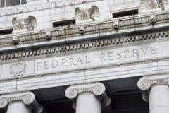 Facciata 2 della riserva federale Fotografie Stock