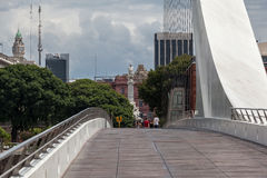 Facciata Argentina della parte posteriore di Rosada della casa Immagini Stock Libere da Diritti