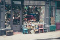 Facciata BRITANNICA di Stockport di un negozio degli interni fotografia stock libera da diritti