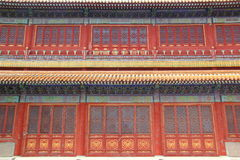Facciata cinese Fotografie Stock Libere da Diritti