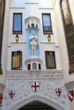 Facciata decorata della corte di Londra, Perth, Australia Fotografie Stock