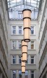 Facciata degli edifici residenziali Fotografia Stock Libera da Diritti
