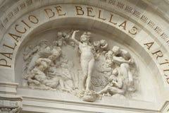 Facciata dei artes di Bellas fotografia stock