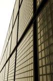Facciata dei mattoni di vetro Fotografia Stock Libera da Diritti