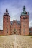 Facciata del castello di Vallo immagini stock libere da diritti