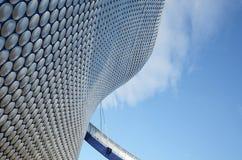 Facciata del centro commerciale dell'arena, Birmingham, Inghilterra Fotografie Stock Libere da Diritti