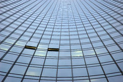 Facciata del grattacielo Immagini Stock Libere da Diritti