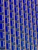 Facciata del grattacielo in New York immagine stock