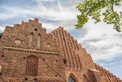 Facciata del monastero di Ystad immagini stock libere da diritti