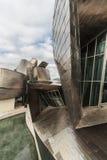Facciata del museo Guggenheim Fotografia Stock