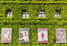 Facciata del museo nazionale a Wroclaw Immagini Stock