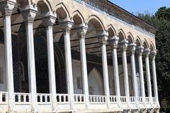 Facciata del palazzo arabo Immagine Stock