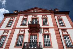 Facciata del palazzo di Biebrich Fotografia Stock Libera da Diritti