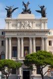 Facciata del palazzo di governo il Ministero di agricoltura a Madrid Immagini Stock Libere da Diritti