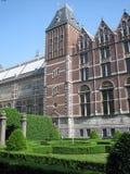 Facciata del Rijksmuseum Fotografia Stock Libera da Diritti