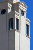 Facciata del timpano Fotografie Stock