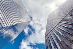 Facciata del World Trade Center di nuovo Fotografie Stock Libere da Diritti