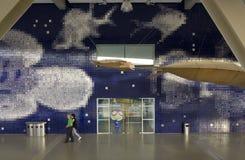 Facciata dell'acquario di Lisbona Fotografia Stock Libera da Diritti