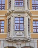 Facciata dell'edificio per uffici, Lipsia Germania Fotografie Stock Libere da Diritti