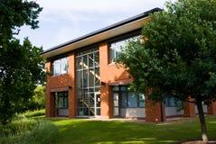 Facciata dell'edificio per uffici. Orizzontale. Fotografie Stock Libere da Diritti