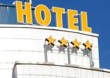 Facciata dell'hotel immagine stock
