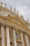 Facciata della basilica del ` s di St Peter Fotografia Stock