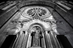 Facciata della basilica di luzia della Santa Immagine Stock Libera da Diritti