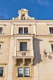 Facciata della Camera nel castello di Wawel, Polonia Fotografia Stock Libera da Diritti