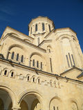 Facciata della cattedrale Fotografia Stock