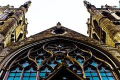 Facciata della cattedrale della trinità Immagini Stock Libere da Diritti