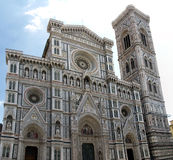 Facciata della cattedrale di Firenze, Italia Fotografie Stock Libere da Diritti