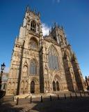 Facciata della cattedrale di York, York, Inghilterra fotografia stock libera da diritti