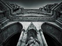 Facciata della cattedrale a Orleans Immagini Stock Libere da Diritti