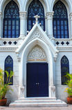 Facciata della chiesa Fotografie Stock